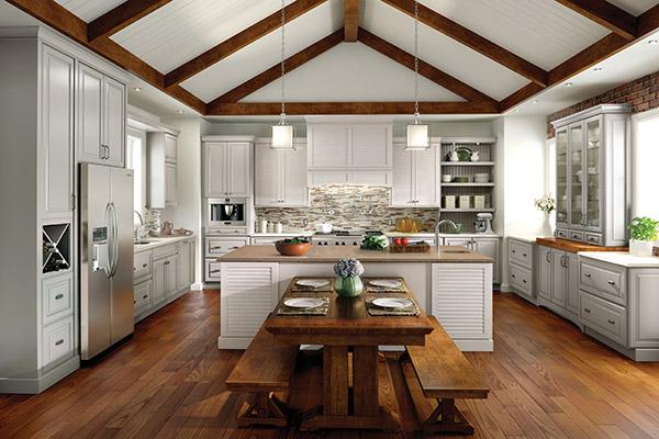 Medallion Cabinetry |  Style: Bahamas & Brookhill