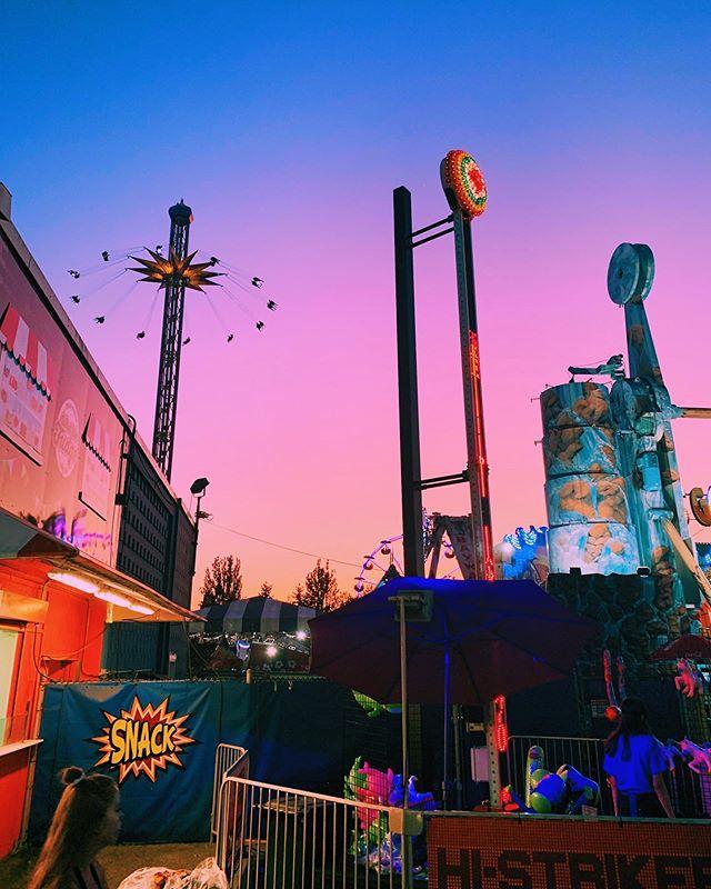 Cream soda skies ✨ #playland