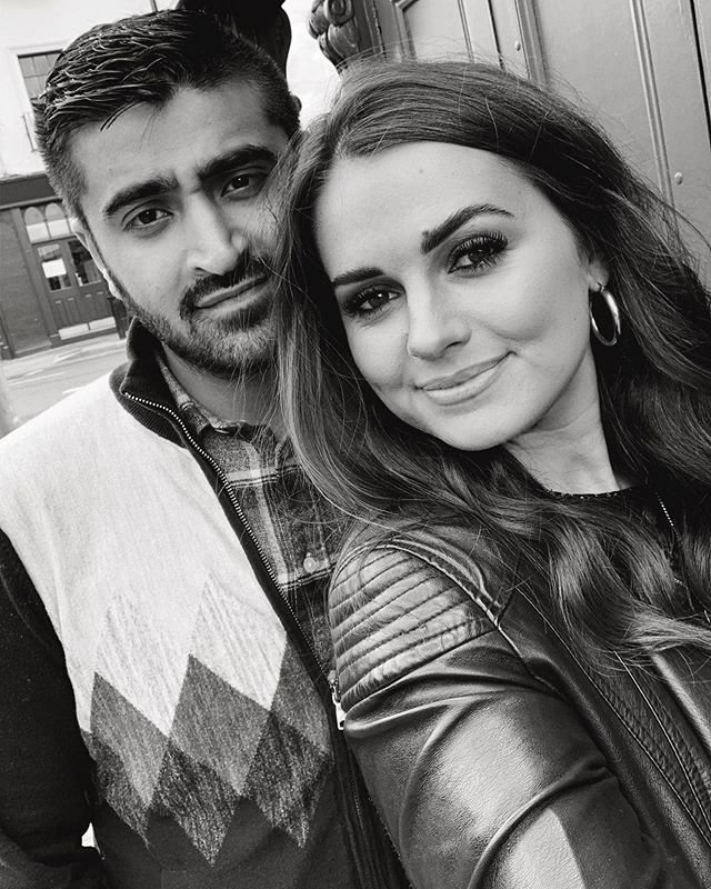 I missed that yesterday was national boyfriend day, so i'm reclaiming it today. ❤️ Cheers to you the moodiest of all 😂😂🥂 @mansoor_anwari