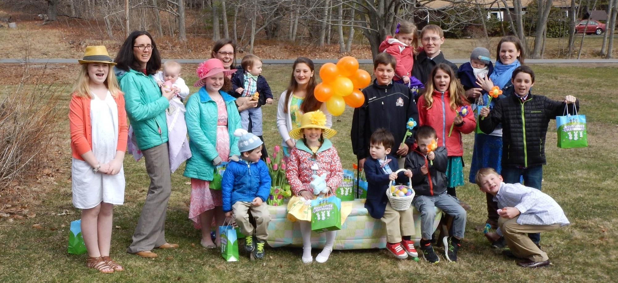 Our Children's Easter Egg Hunt will be held on Easter Sunday April 21, 2019 directly after worship at 10:30am. All are welcome!