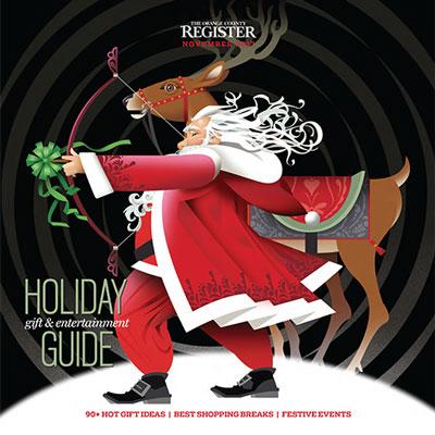 Holiday Gift Guide   The Orange County Register  November 23, 2017
