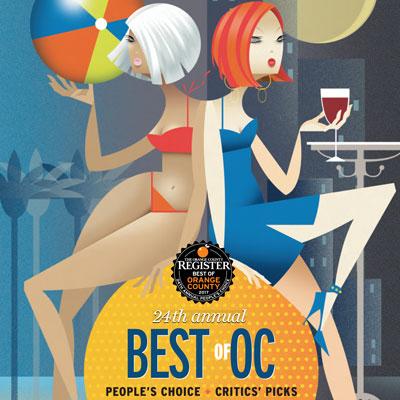 Best of Orange County   The Orange County Register  September 24, 2017