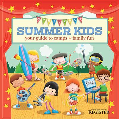 Summer Kids   The Orange County Register  April 9, 2017