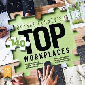 O.C. Top Workplaces   The Orange County Register  December 7, 2018