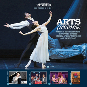 Fall Arts Preview   The Orange County Register September 8, 2019