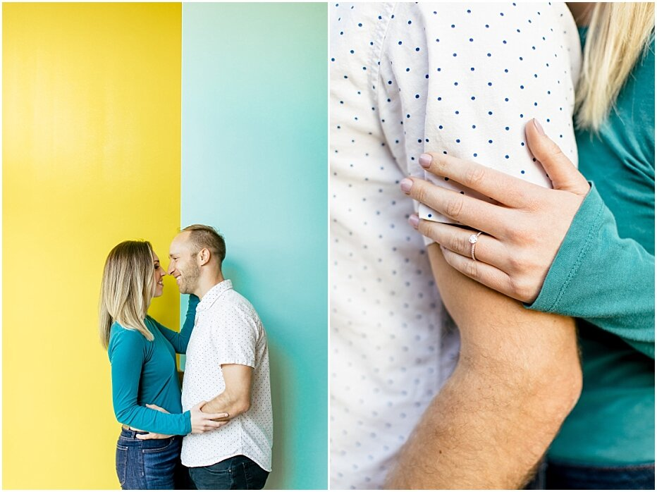 Orange County Wedding Photographer - The LAB Engagement Session - Mitch and Ellen