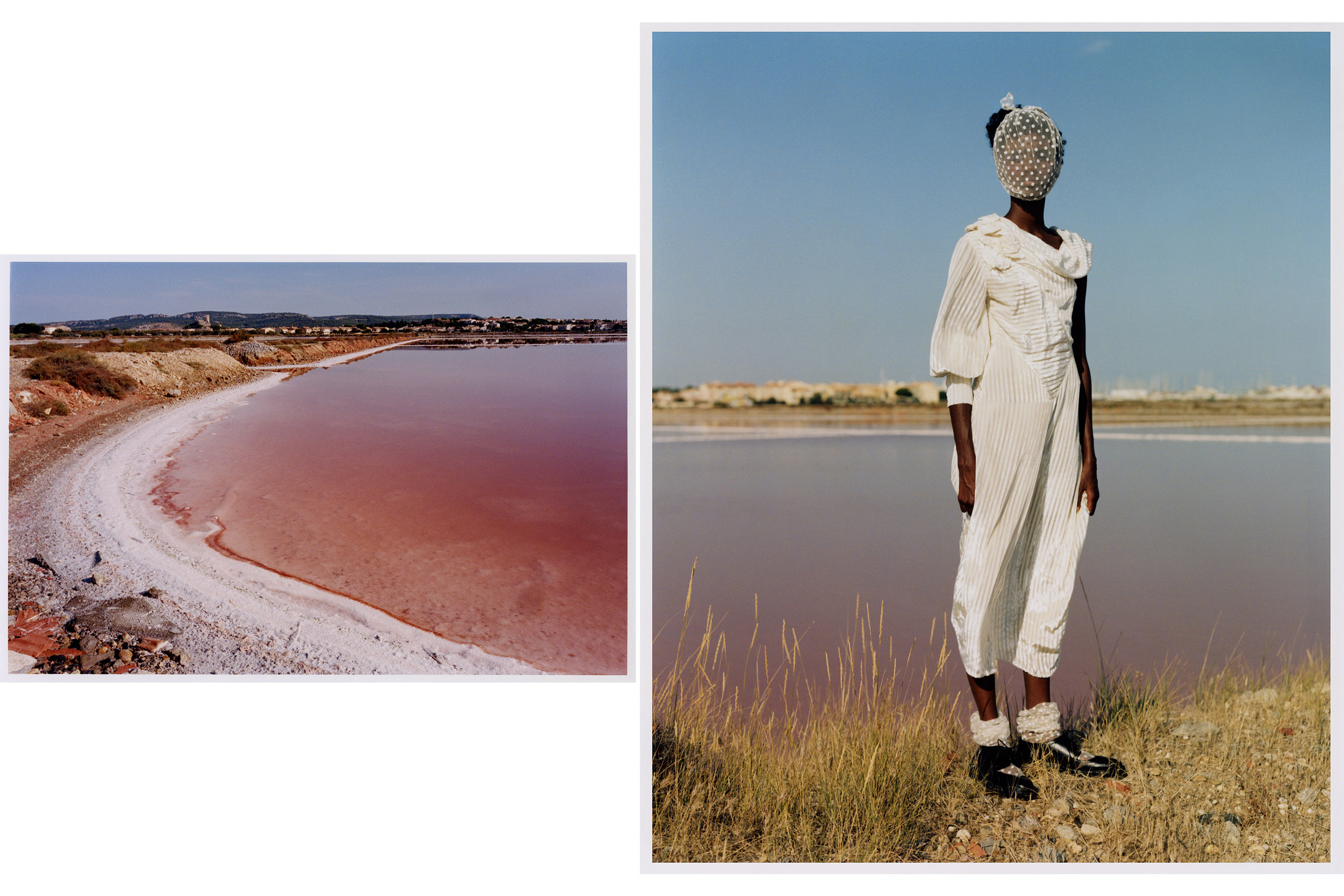 """Le Salin""  for   Document Journal   featuring Bibi Abdulkadir  Photography by   Markn   Styling by   Louise Ford   Hair by   Ryuta Saiga   Make up by   Mattie White   Casting Leila Aziz at   AM Casting"