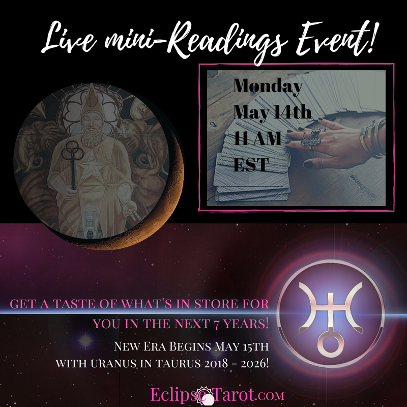 Join Me Live! - Get a FREE 2-card Reading on Monday HERE. evening session happening in the Glow For It group!