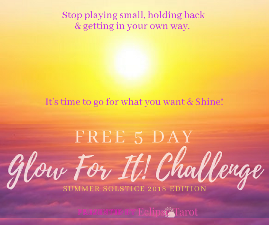 Listen... - I know the collective energies swirling around us can be tough to feel. There is no doubt that there is chaos and tragedy in the world. So much that we may want to totally Tune Out.I want to help you Tune In to what matters. To what matters to YOU.Join the FREE 5 Day Glow For It! Challenge.