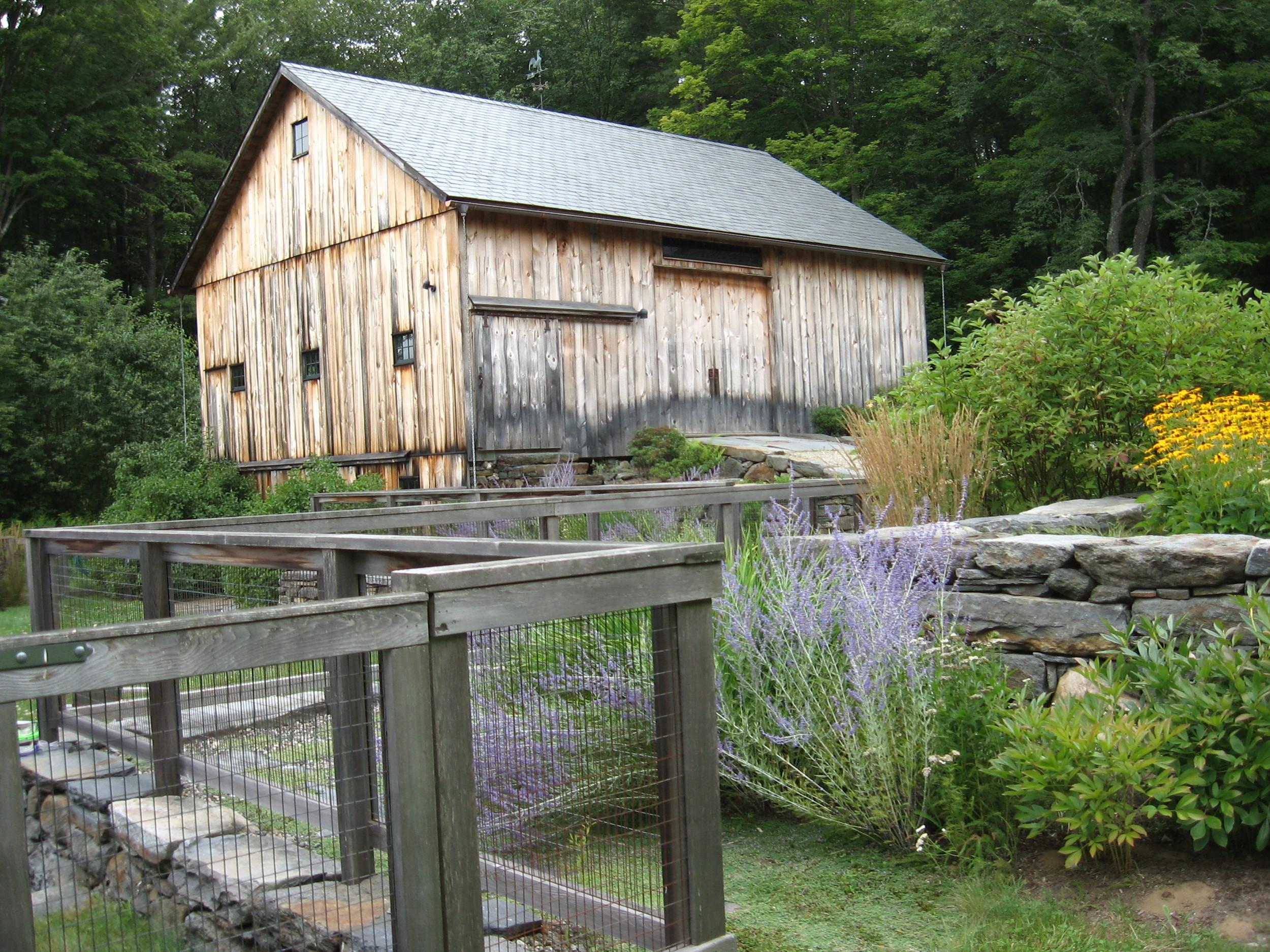 Timberframe barn restoration, Ashfield MA