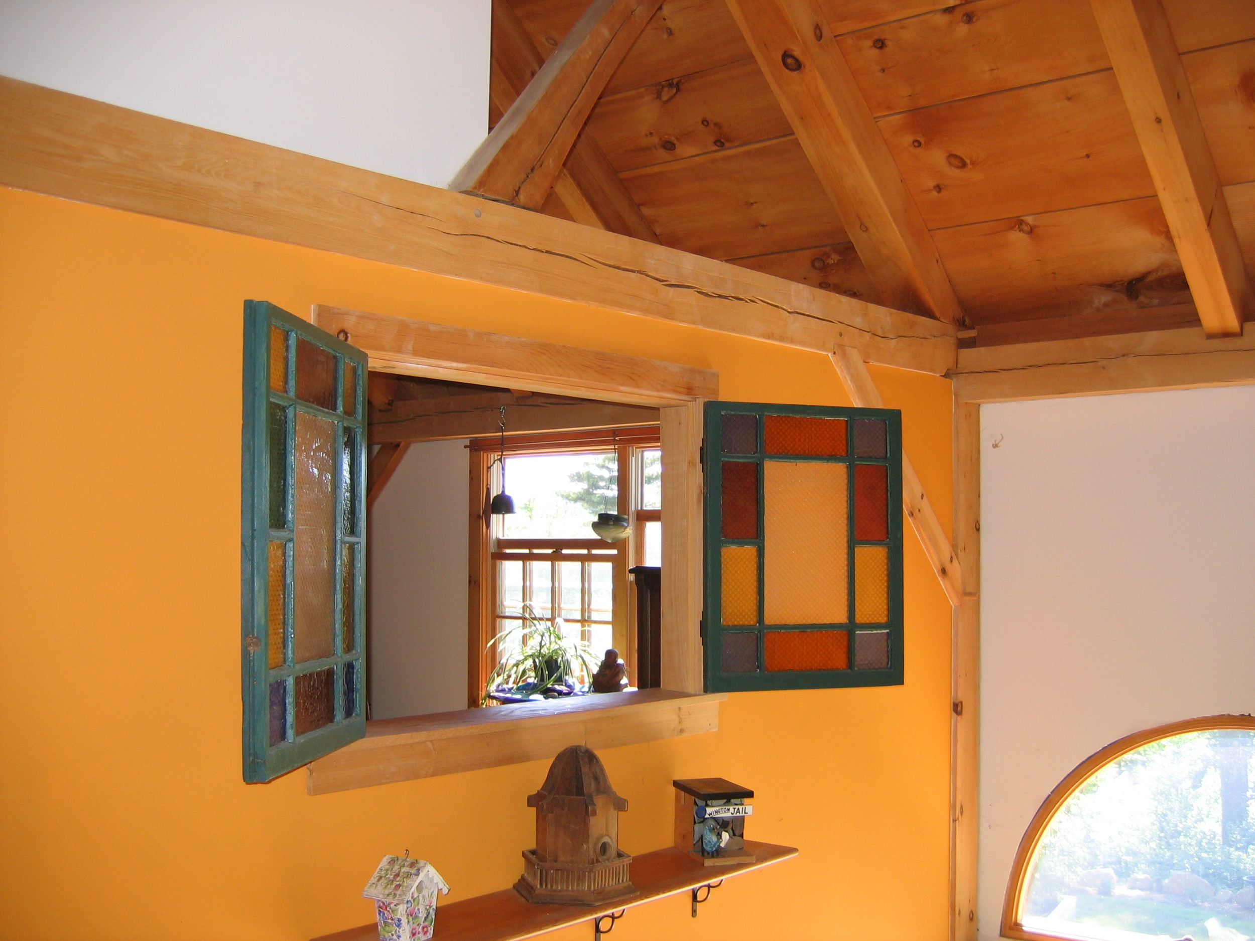 Timberframe home, Plainfield MA