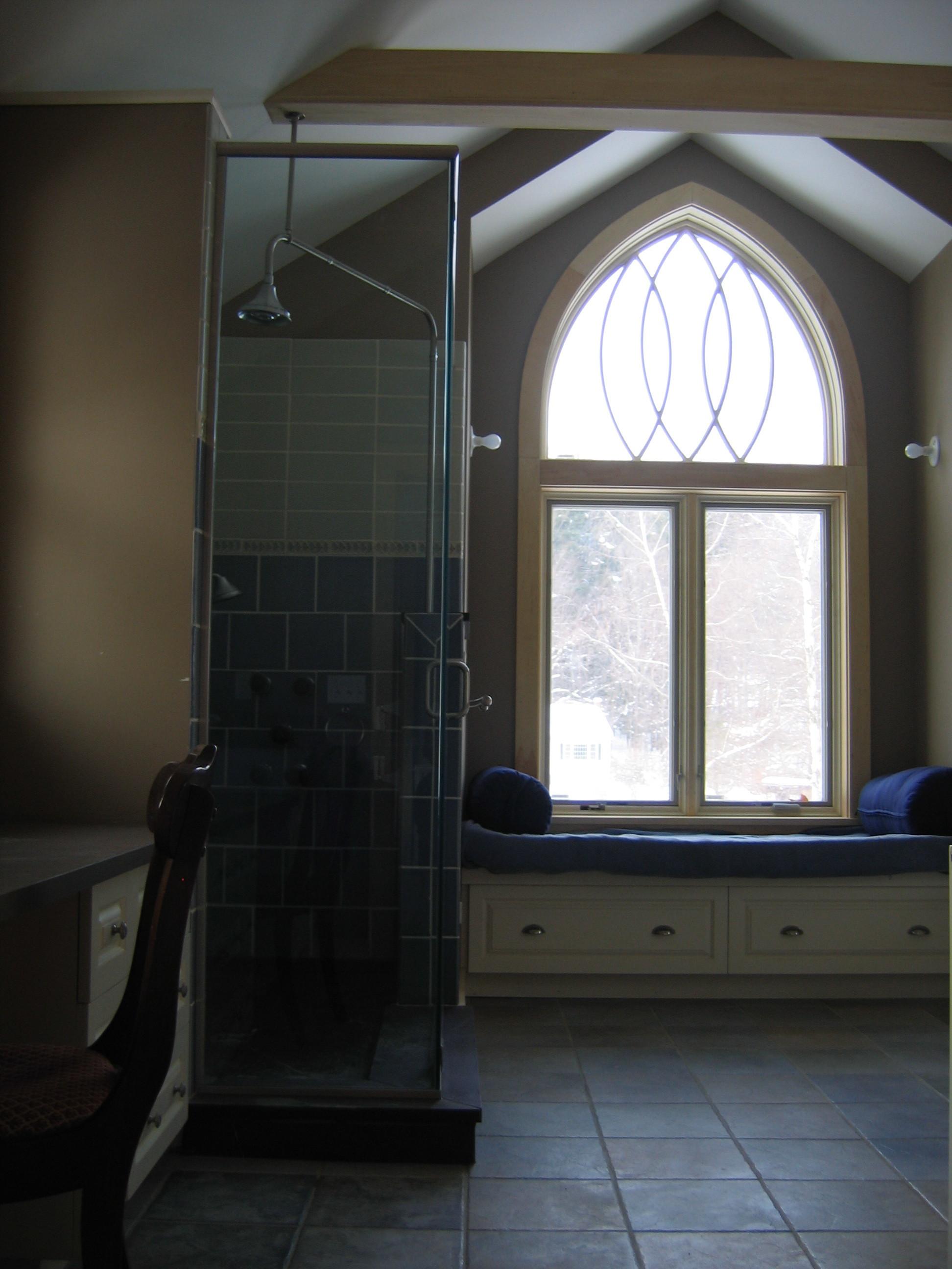 Residential bath remodel, Shelburne Falls MA