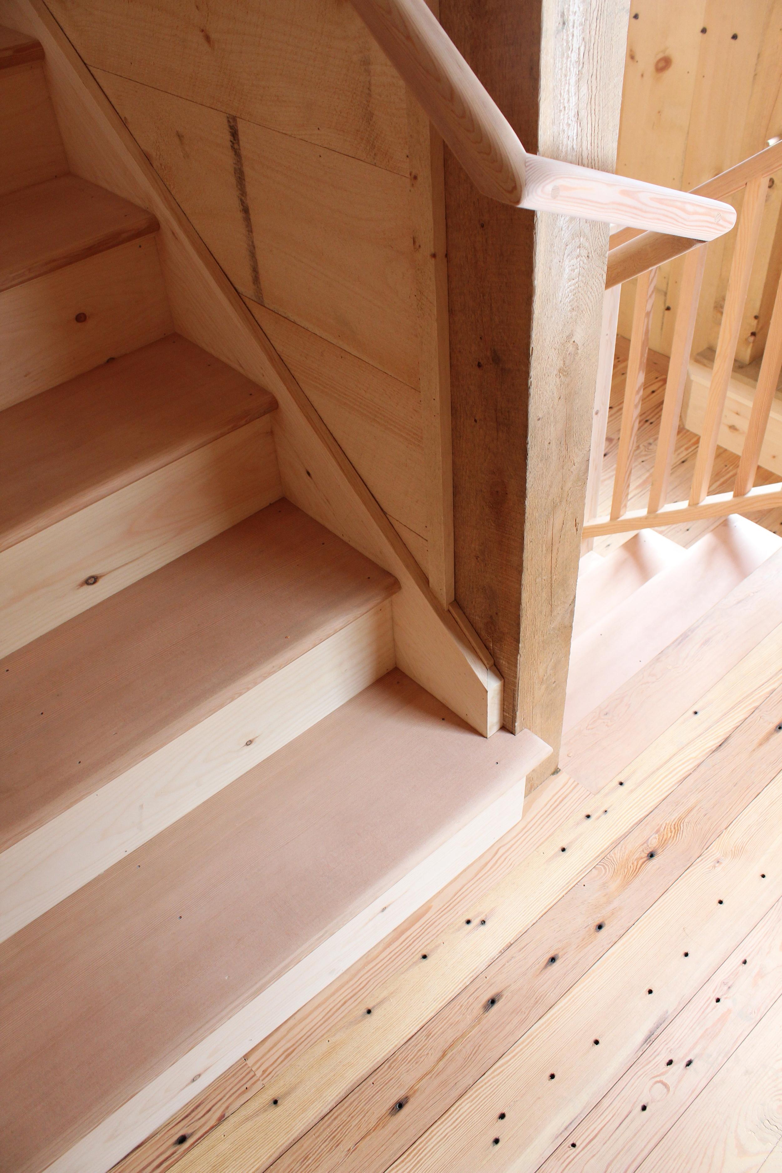 Stair detail, Ashfield MA