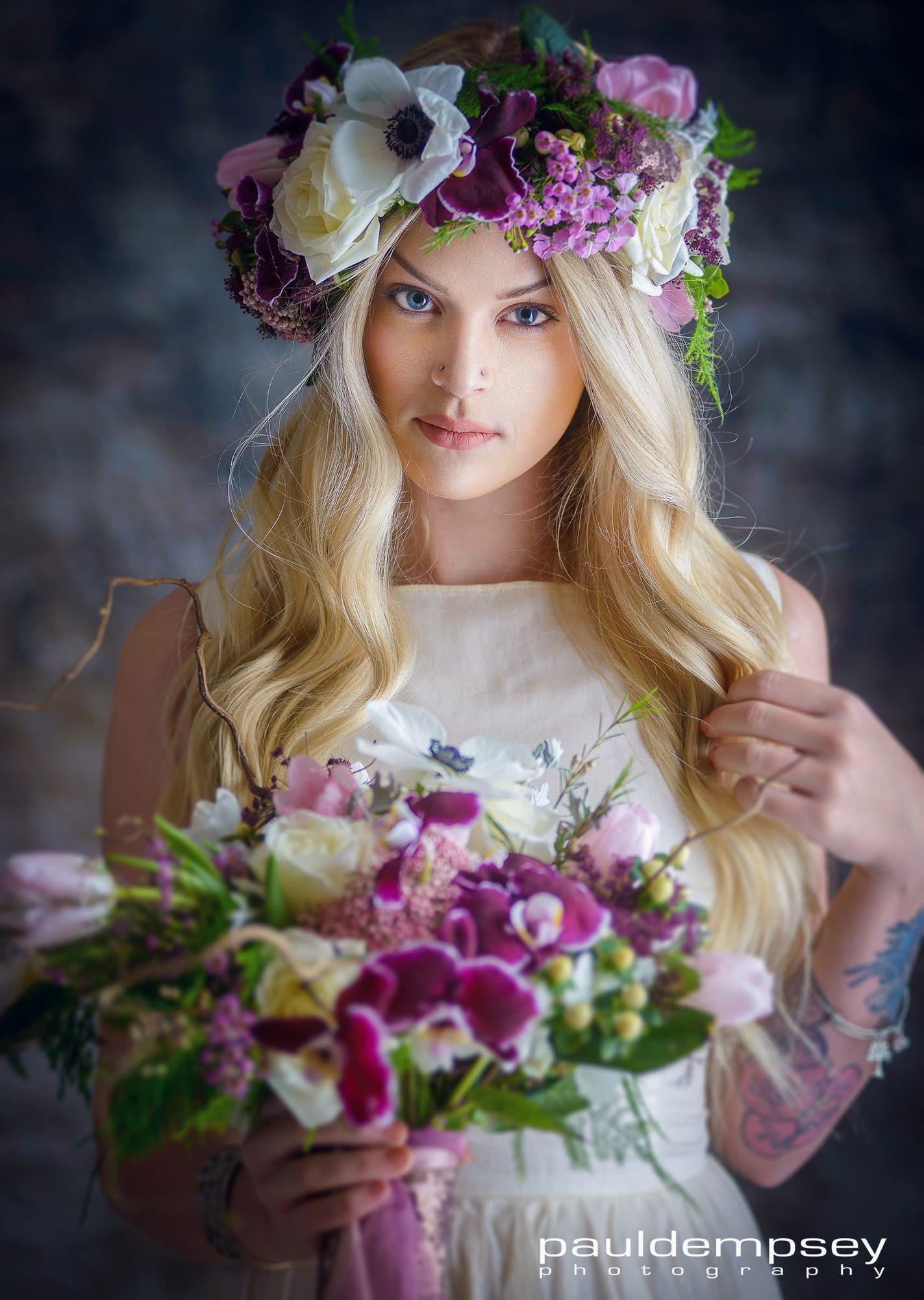Sam's Floral Crown is ahhhhmazing! #springintheair
