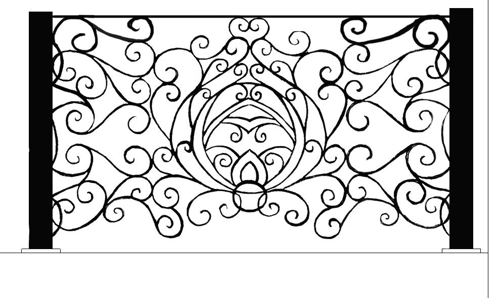 Left straight part of stair railing.jpg