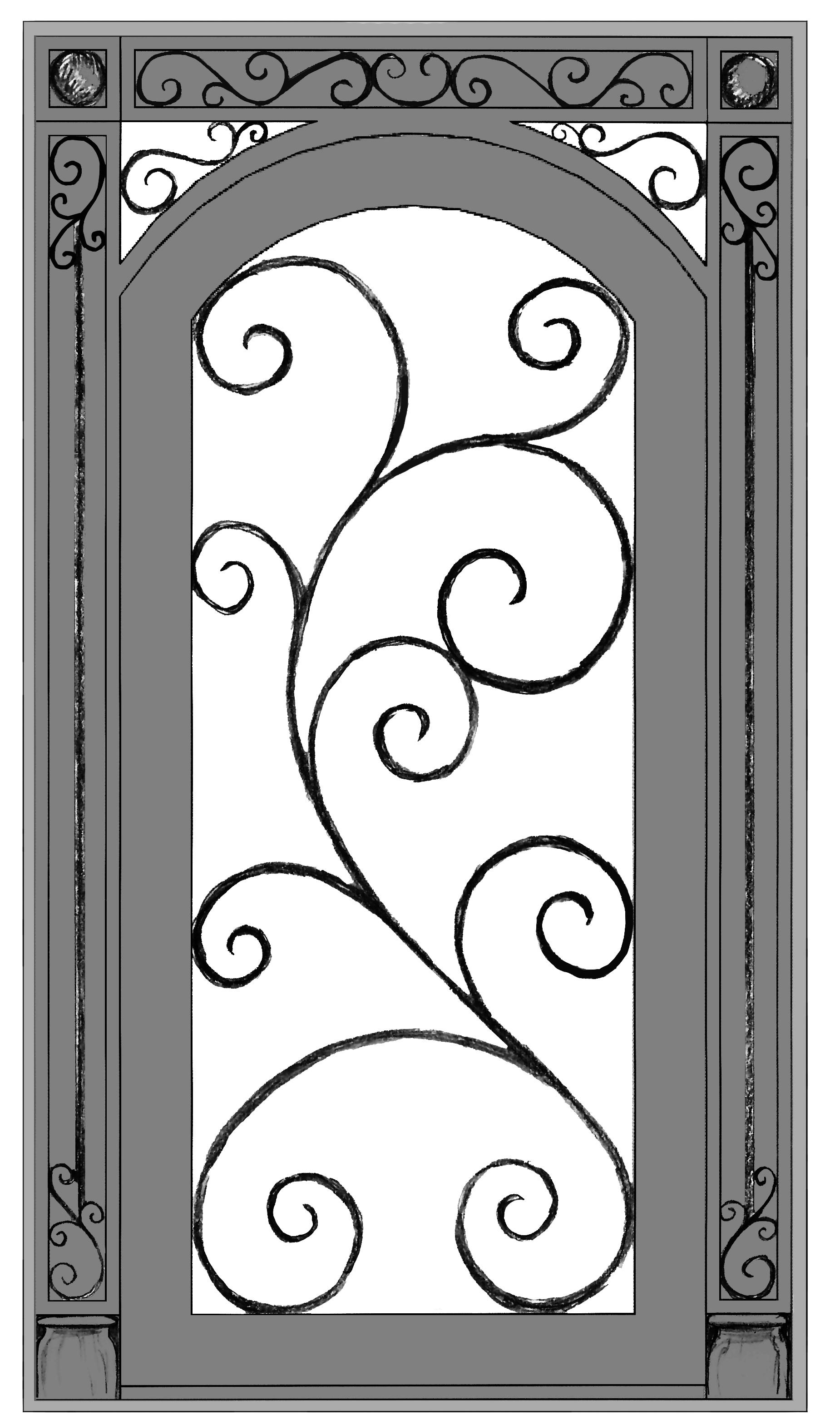 Phyllis Door. 53 x 95 5.5.2017.jpg