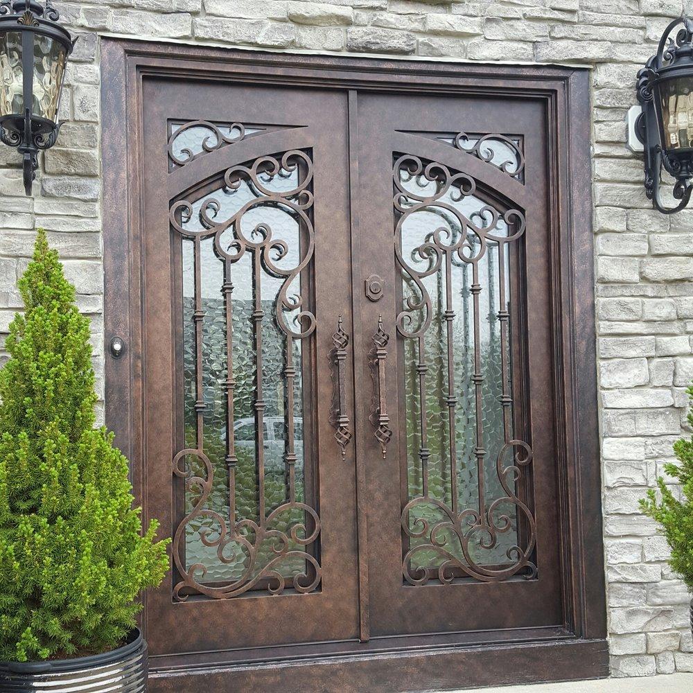 best iron doors