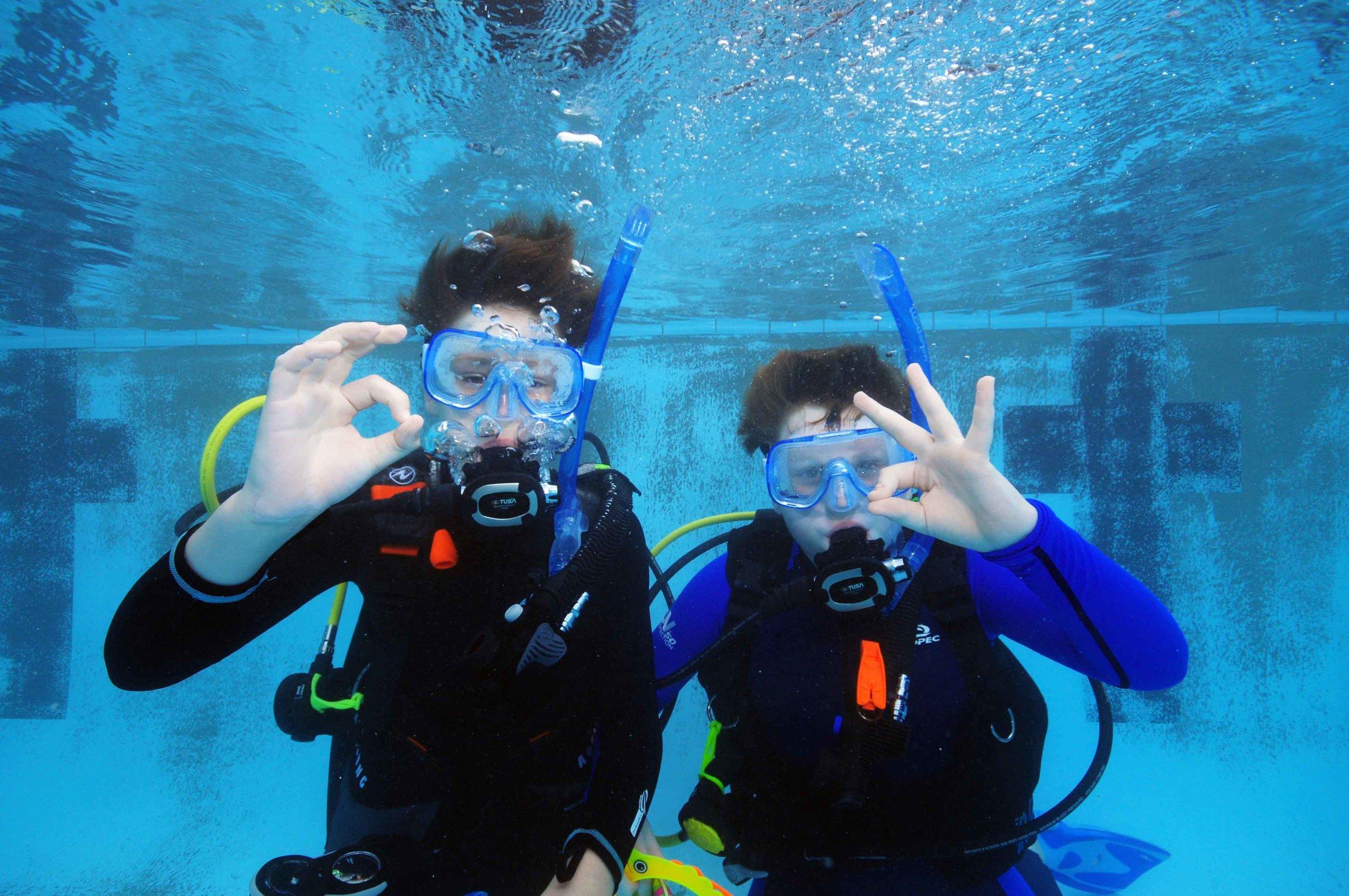 brisbane kids scuba diving