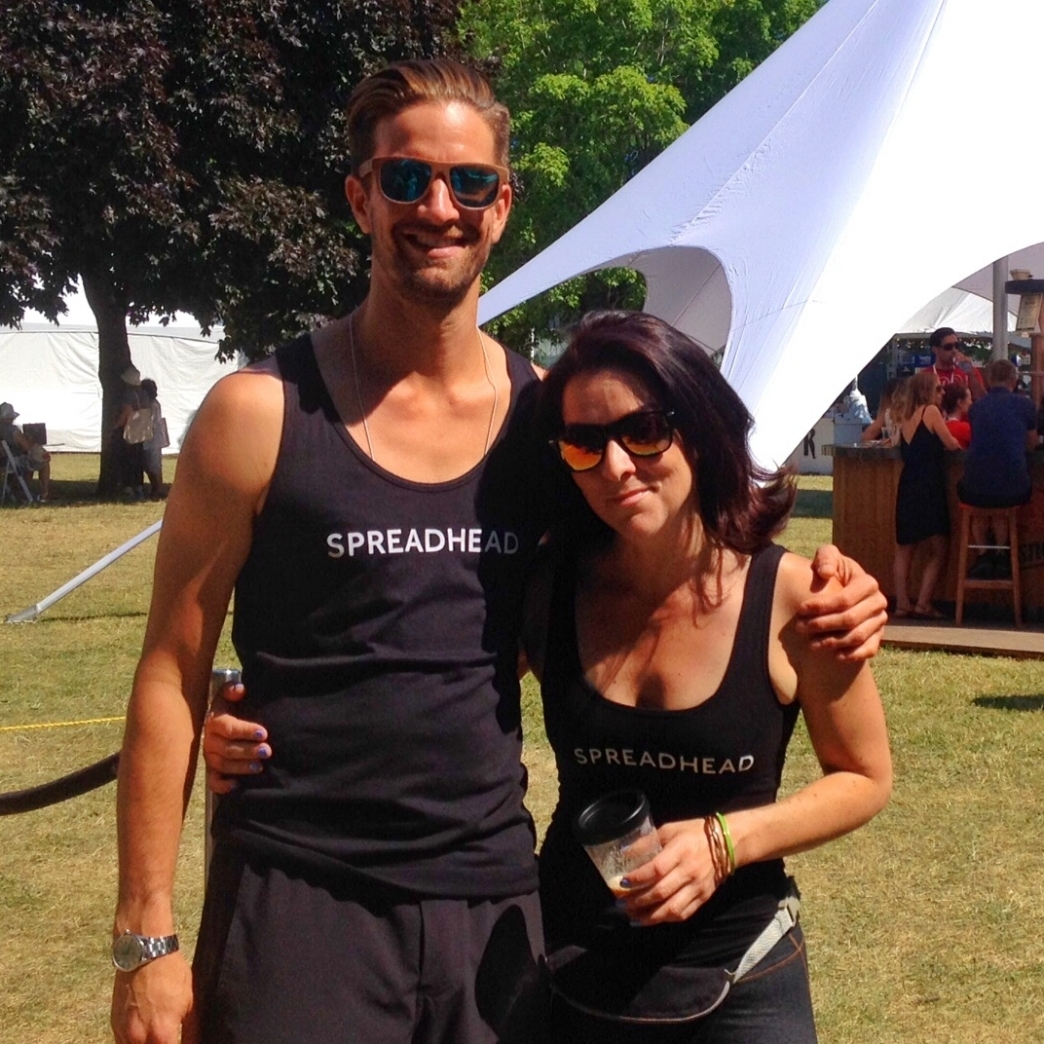 Ben and Sabrina enjoying some sunshine at this year's Taste of Toronto