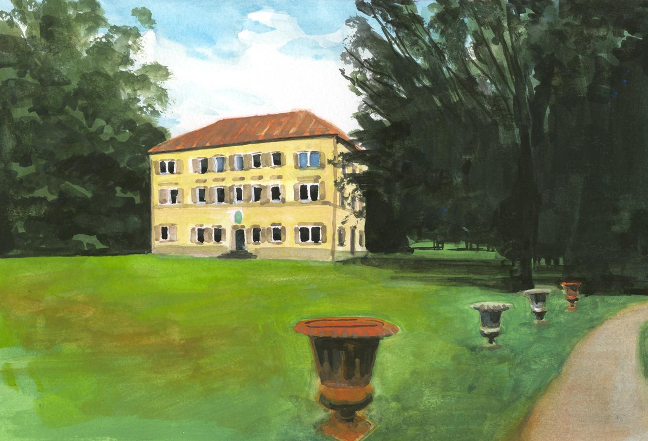 Villa Maria, staatsbad Bad Brückenau