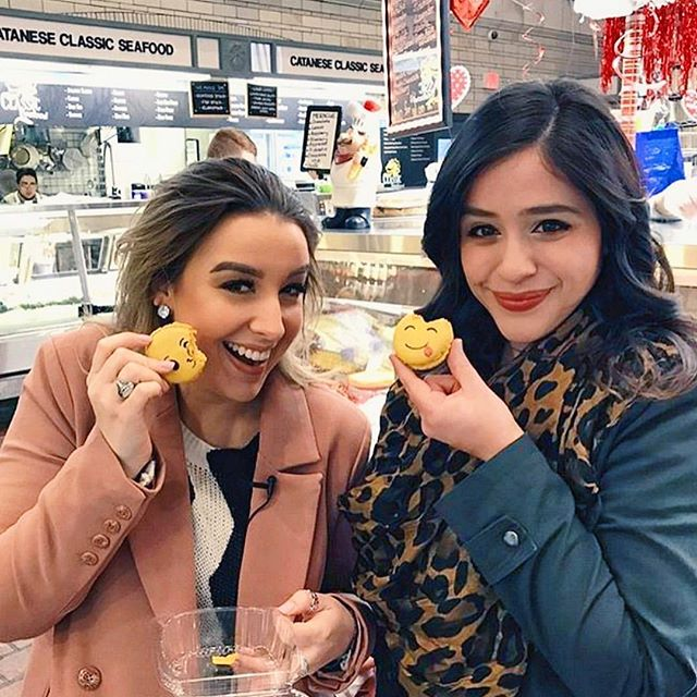 Check out @ashtonparsley & @simplea_sara of #SeriouslyTV as they journey through the CLE exploring all the city has to offer! 💕 And follow them right to Euro Sweets, in the heart of WSM, to get your very own emoji macarons! 😘😋 #SeriouslyCleveland