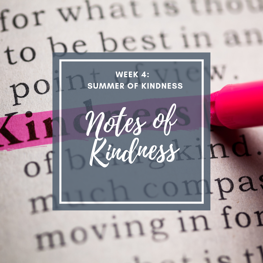 Summer of Kindness activity for kids with random acts of kindness