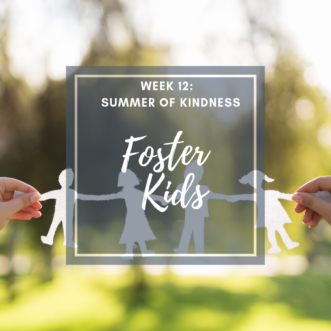 Summer of Kindness activity stuffed animals for foster kids