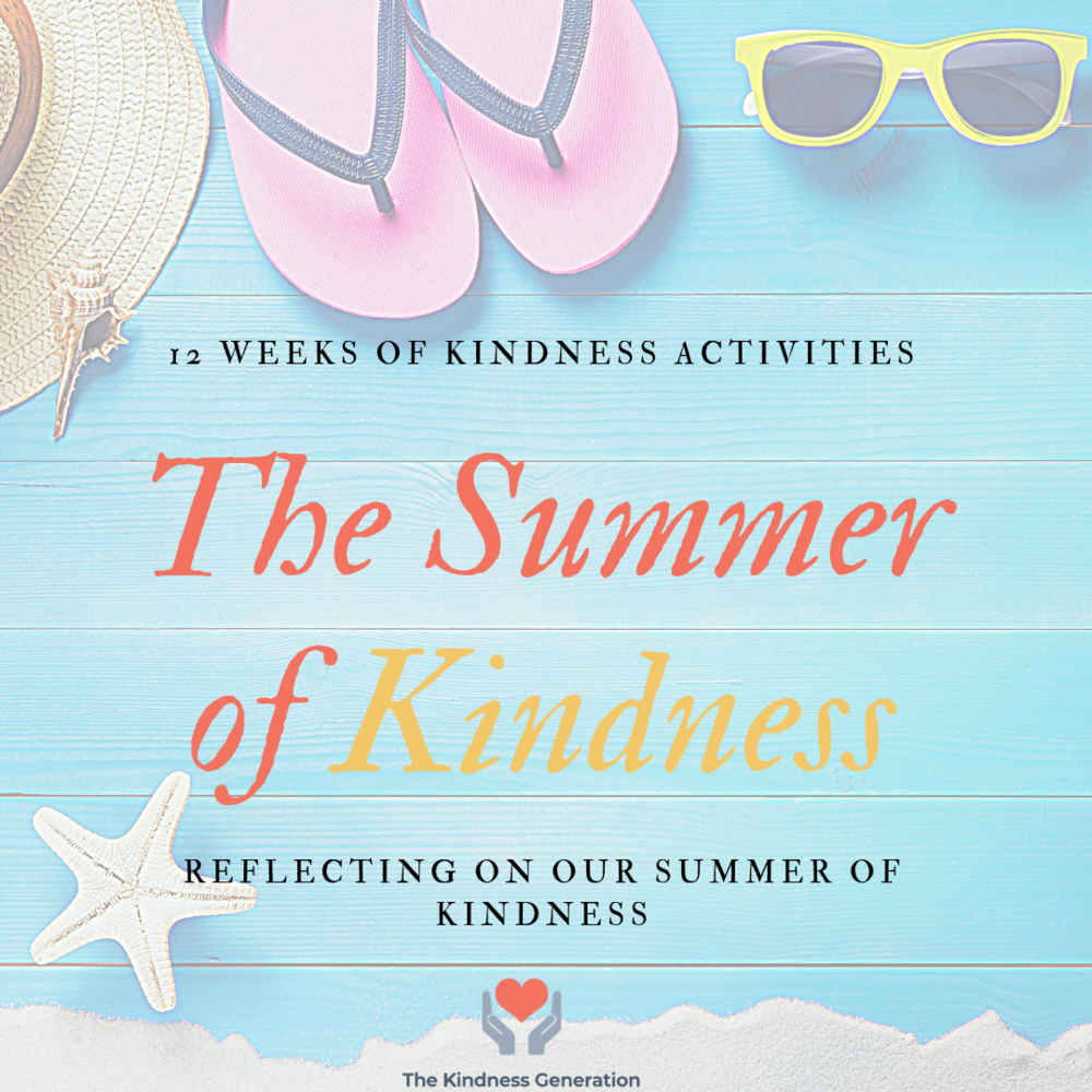 Summer of kindness kids activities doing good for community
