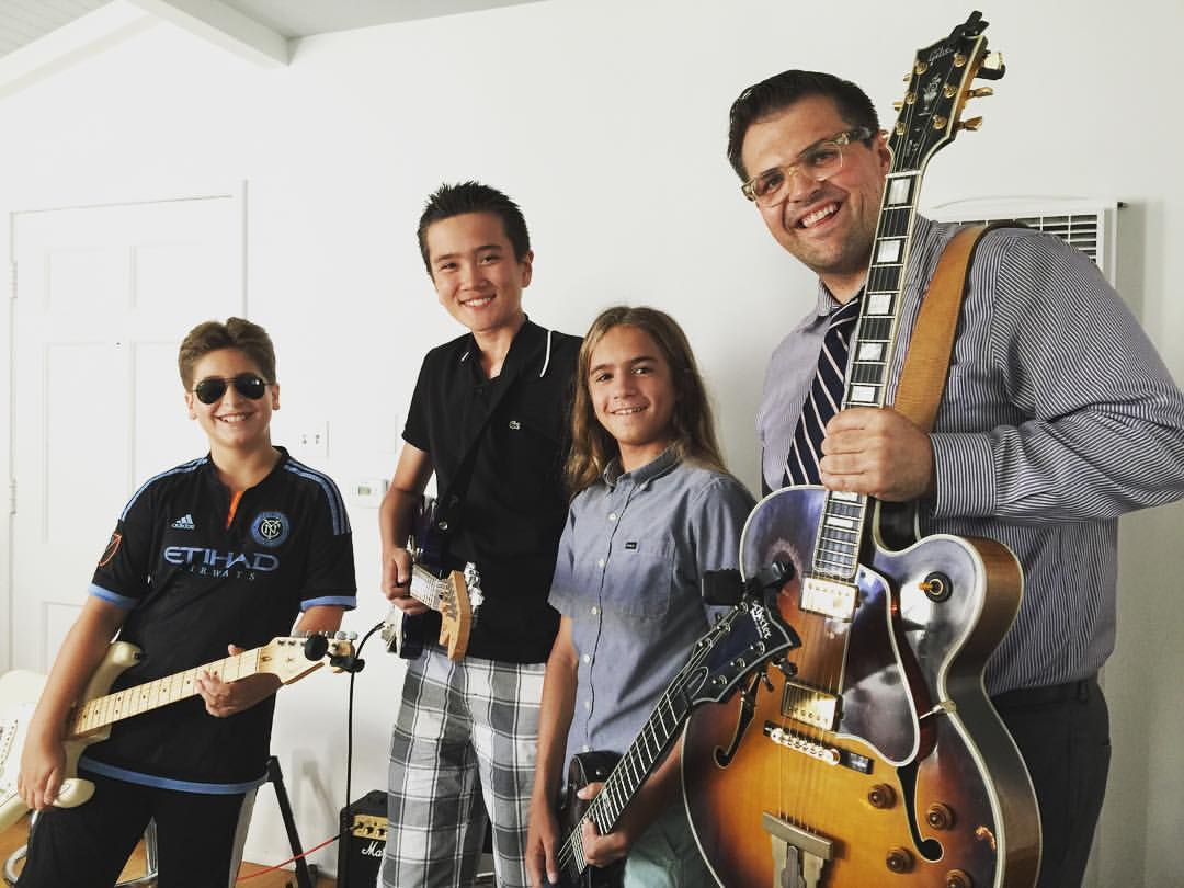 Photo from last summer's Blues Guitar Intensive - Hermosa Beach, CA