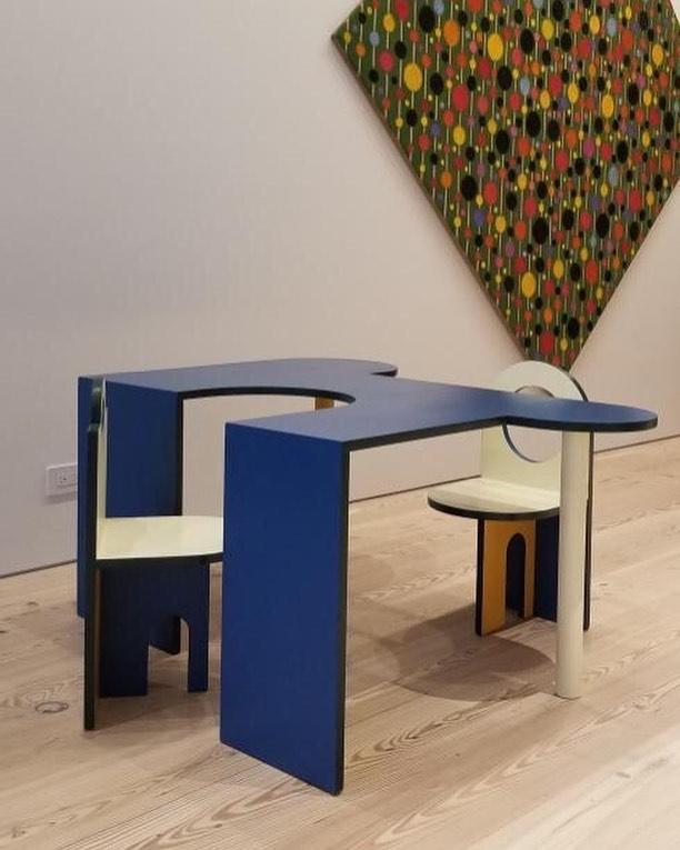 Fun kids table for a @worrellyeung project! . . . . . . . .  #phaedodesign #design #interior #interiordesign #furniture #furnituredesign #craft #handmade #handcrafted #art #sculpture #designer #maker#catskills #andnorth #hudsonvalley #kidsfurniture #bauhaus #upstateny