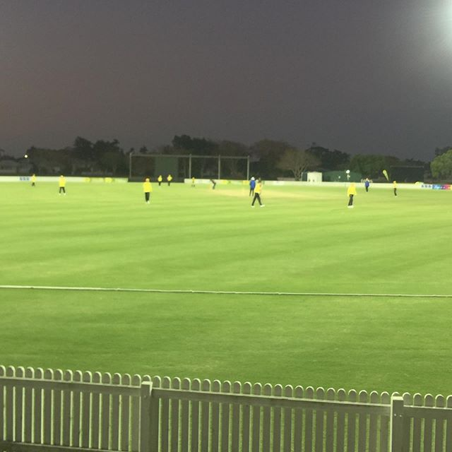 Tim enjoying role as Physio at the national championships for the WA U17s tonight v TAS 🏏🙌 #cricket #sports #physio #jenkinsphysio