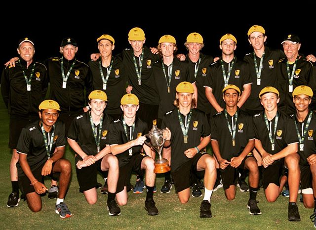 Absolute privilege Being part of the winning ways with these legends 🏏 clean sweep winning all games and the grand final with a last over run out for the 🏆 National champs 🥳