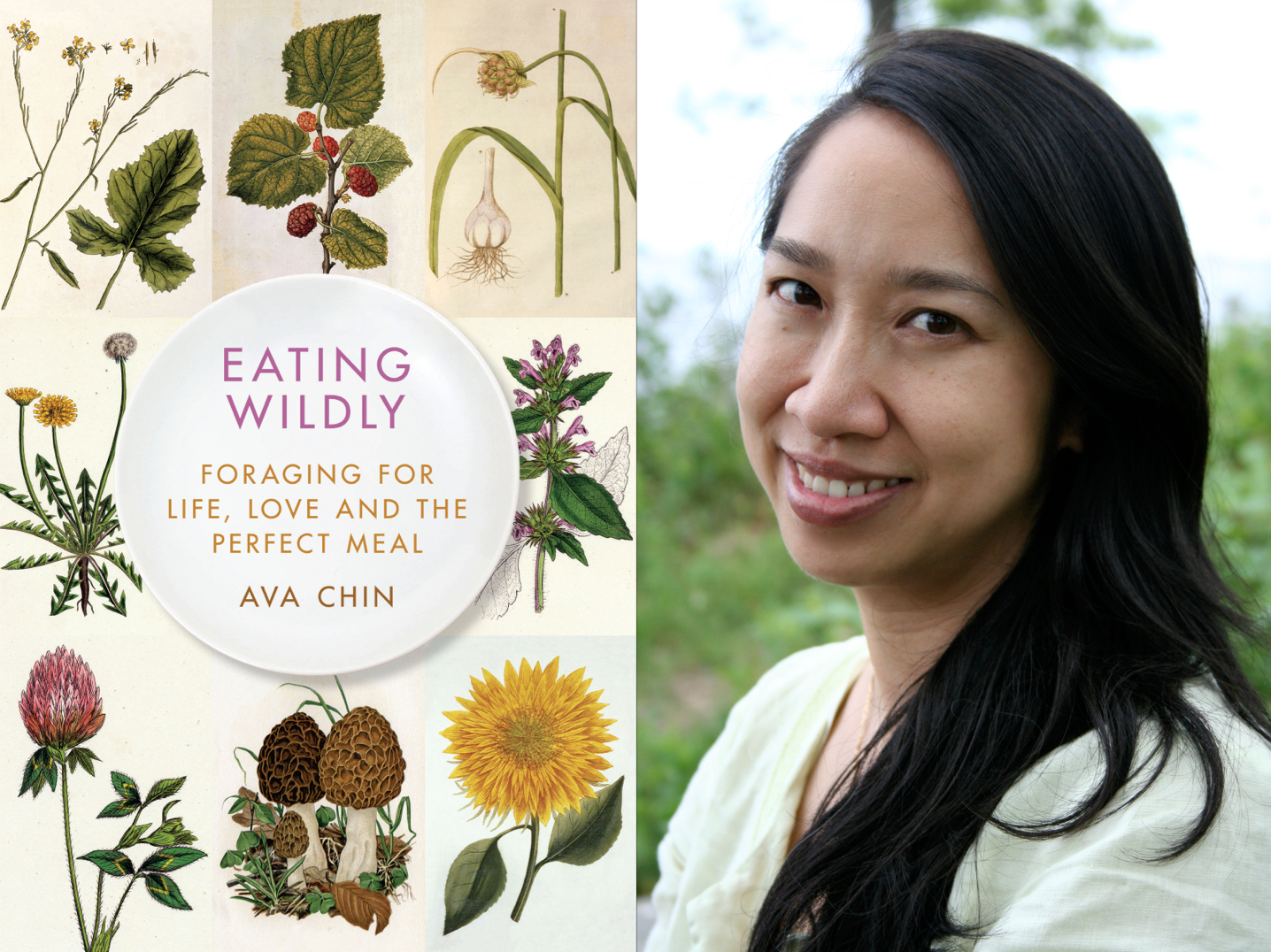 Cover for  Eating Wildly /  Ava Chin