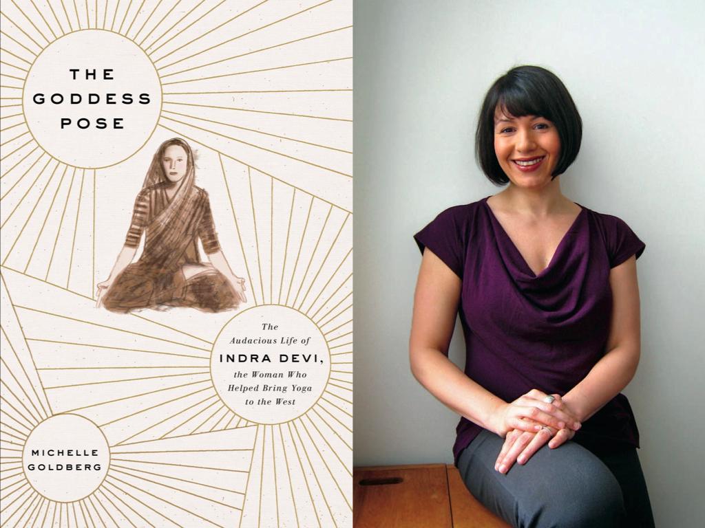 Cover for  The Goddess Pose / Michelle Goldberg