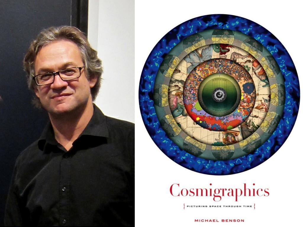 Michael Benson / Cover for  Cosmigraphics