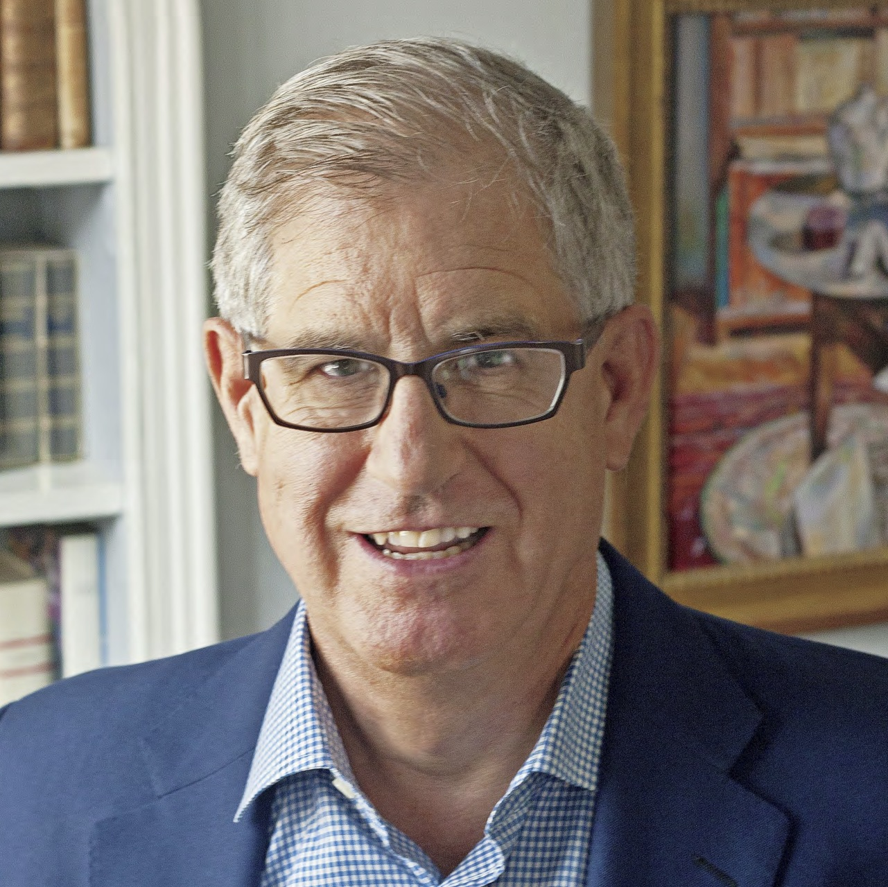 Photo of Jonathan Galassi by Elena Seibert