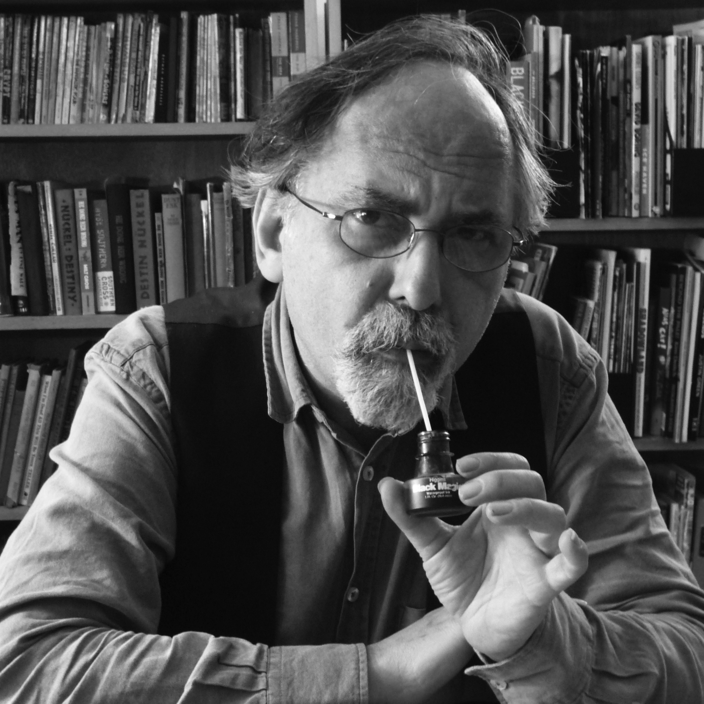 Photo of Art Spiegelman by Nadja Spiegelman