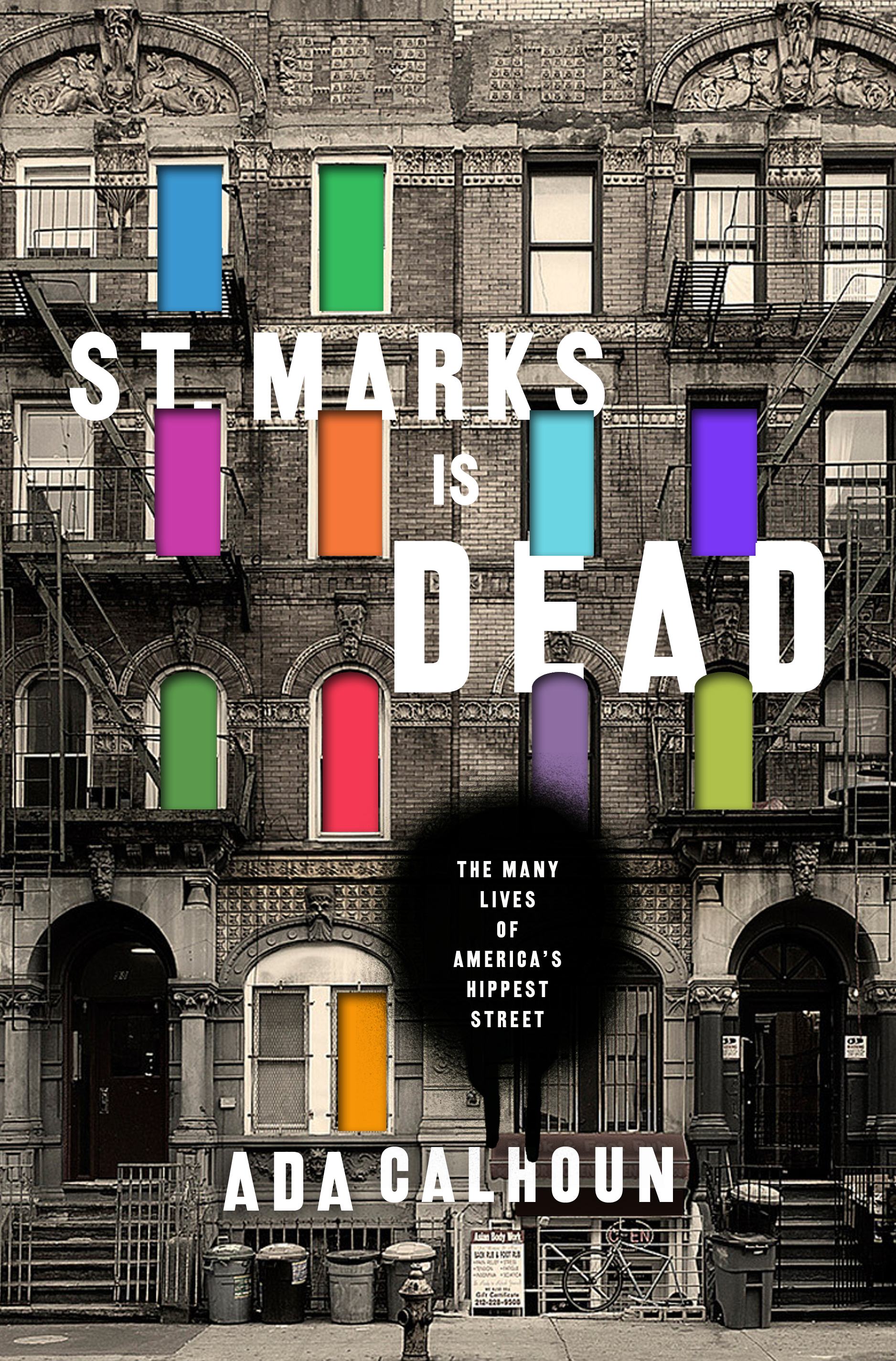 Book cover for  St. Marks is Dead