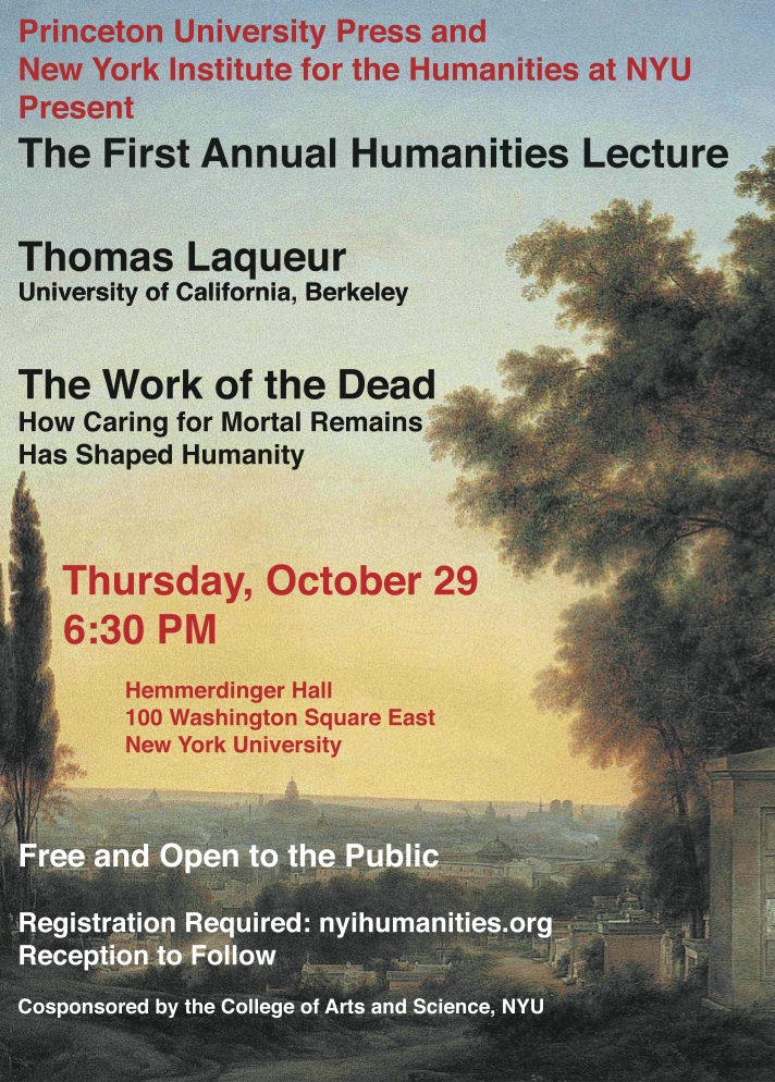 Flyer for  The Work of the Dead