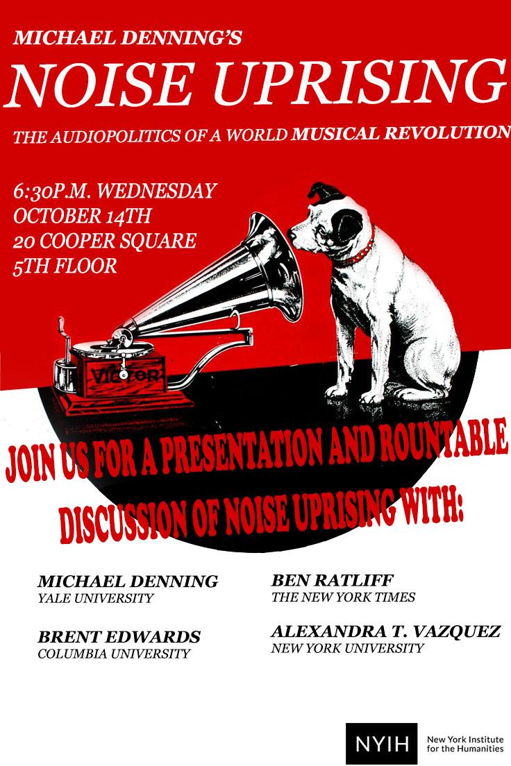 Flyer for  Noise Uprising