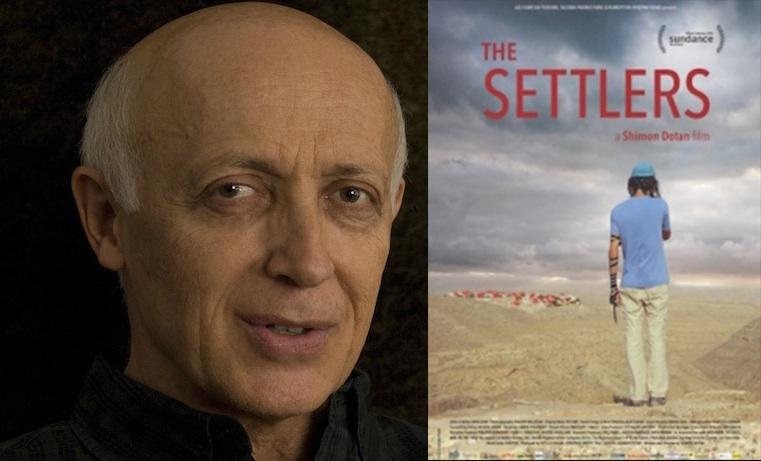 Shimon Dotan / Cover for  The Settlers