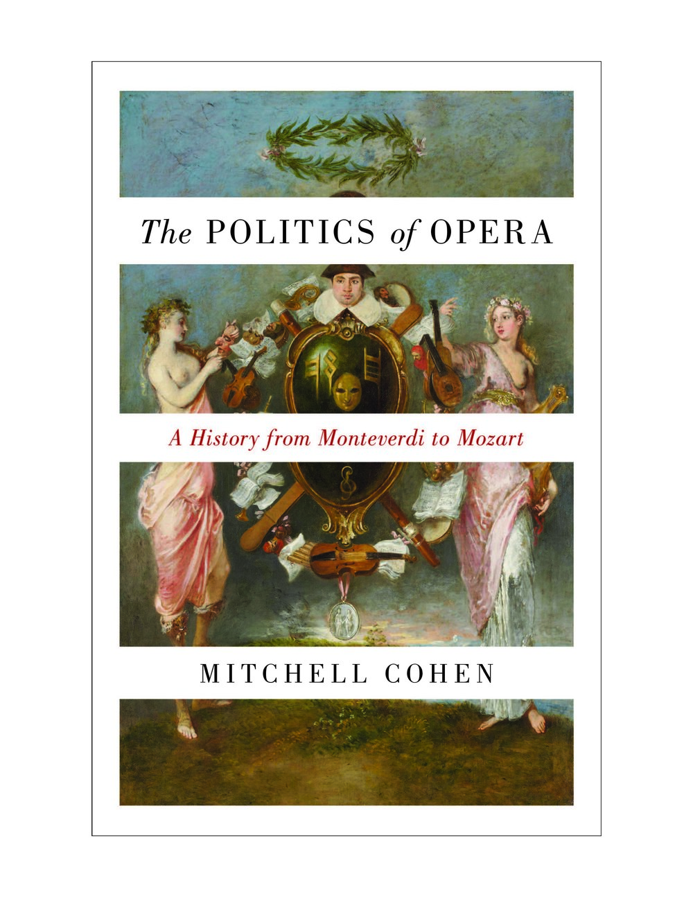 Book cover for Mitchell Cohen's  The Politics of Opera