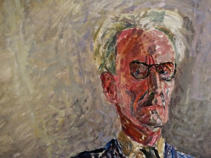 Józef Czapski,  Self-portrait with Lightbulb  (detail), 1958