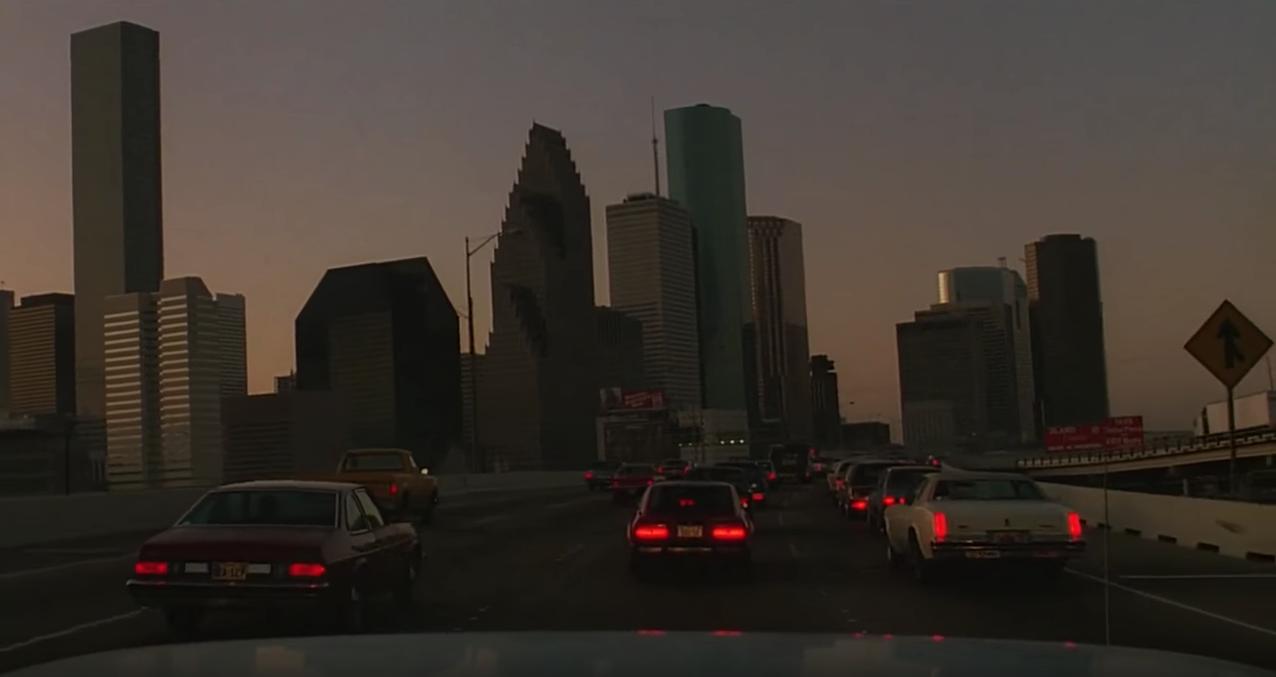 Houston, Texas, at night