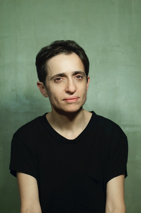 Photo of Masha Gessen by Tanya Sazansky