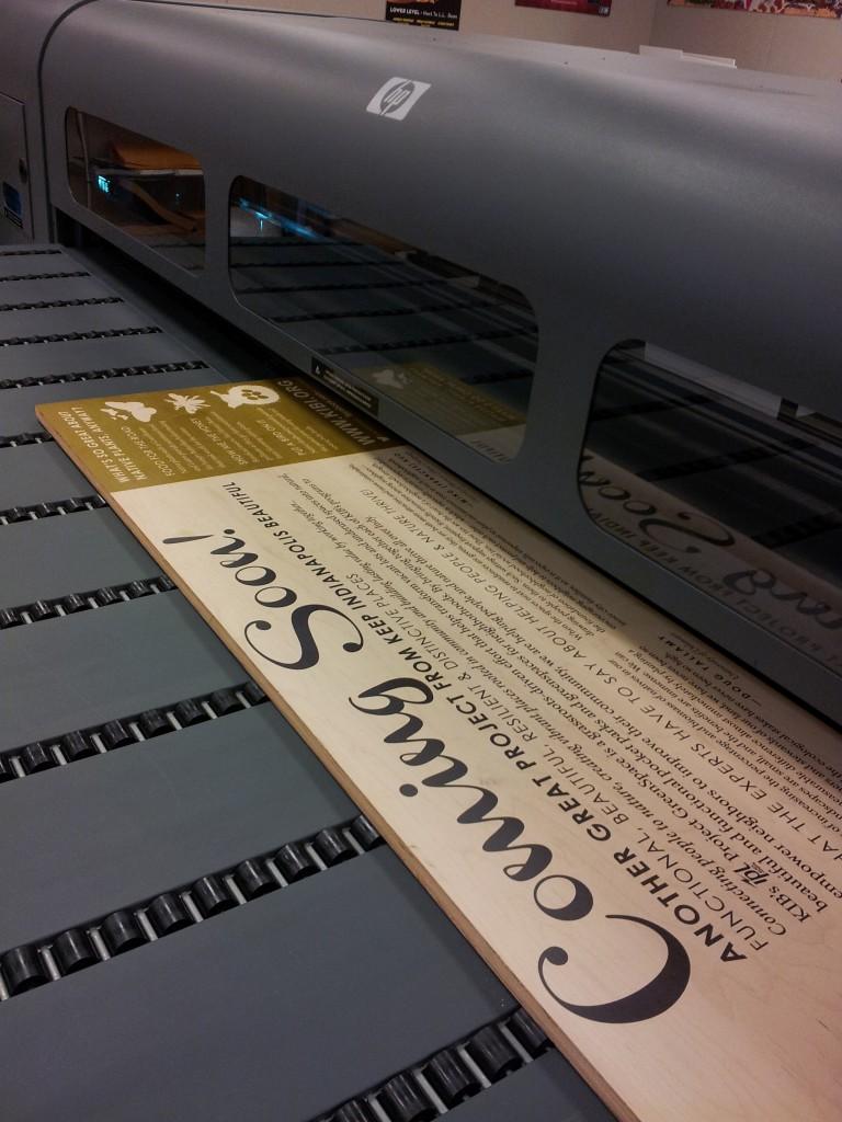 Wood Printing