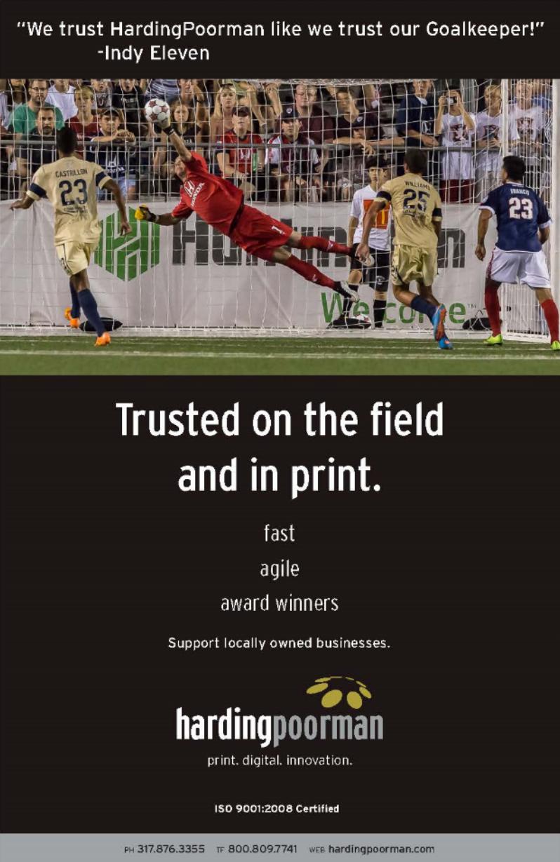 Indy Eleven Program. Trust Ad.