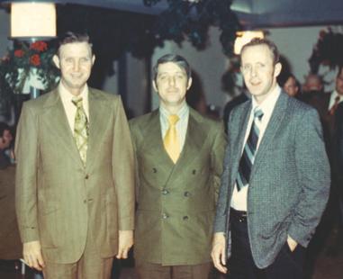Charles Greene (Center) Cira 1963