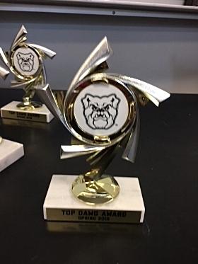 TOP DAWG Trophy