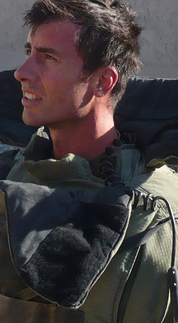 In one of my previous lives, as a bomb disposal operator in Afghanistan, 2009-2010.